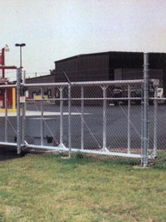 Aluminium Automatic Gate