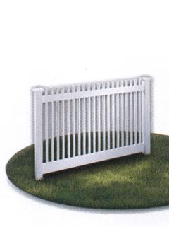 narrow fence
